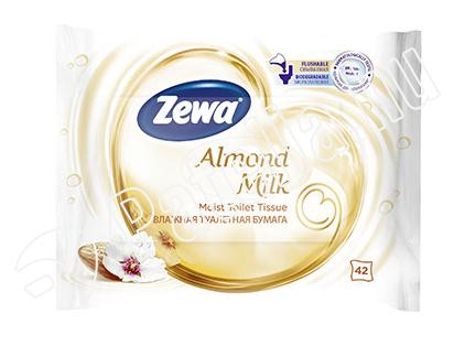 ZEWA ALMOND MILK NEDVES TOALETTPAPIR 42X