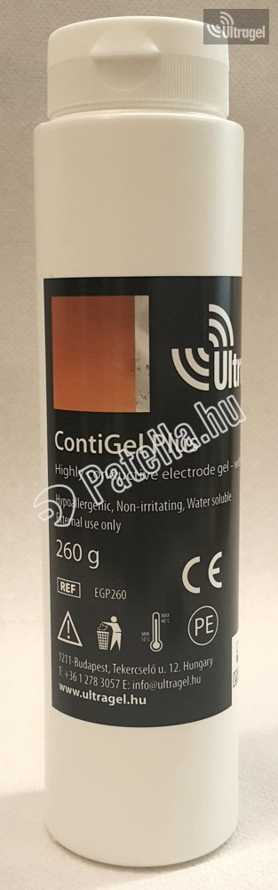 EKG GÉL 250ML (CONTIGEL FLIP-TOP 260GR)