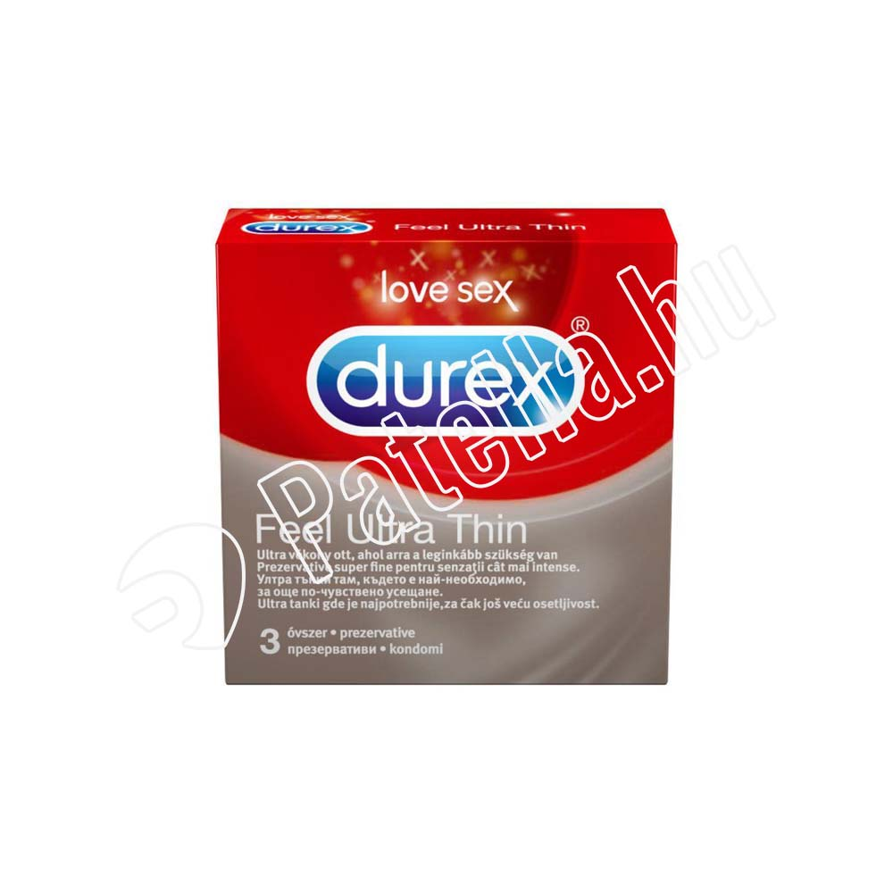 DUREX OVSZER FEEL ULTRA THIN 3X