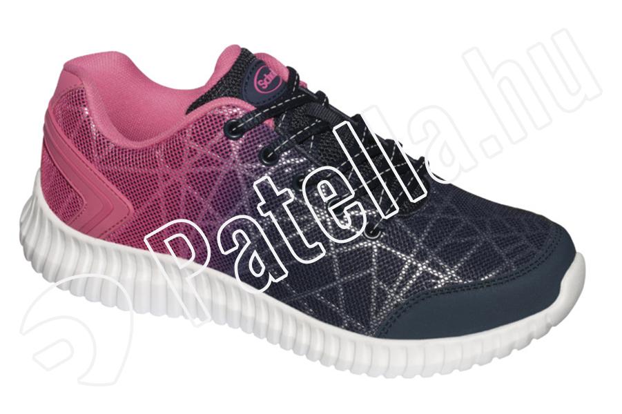 Scholl Mercurie sötétkék fukszia cipő